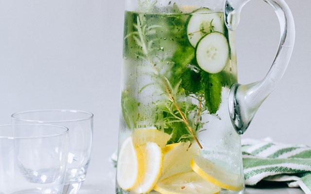 cucumberherbinfusedwater